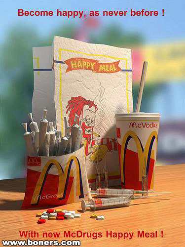 McDrugs Happy Meal